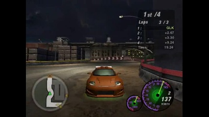 Nfs Underground 2 Street X , перфектно каране с Rx - 7, Rx7 , Drift