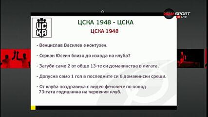 Преди кръга : ЦСКА 1948 - ЦСКА