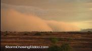 Масивна пясъчна буря в Финикс, Аризона 6.9.2014