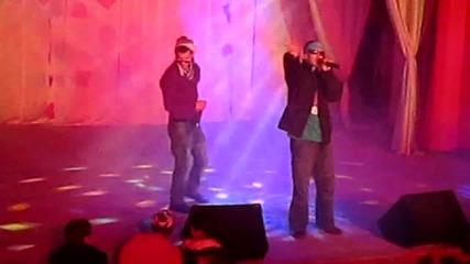 Sten feat. Demuna & Elmo - Време за купони; Всеки път (mix) Концерт Добрич 10.02.2012