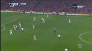 Арсенал - Нюкасъл Юнайтед 0:0 /първо полувреме/