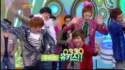 110424 U-kiss - Twinkle Twinkle (girl's Day) @ Sbs Challenge 1000 Songs