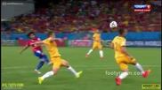 14.06.2014 Чили - Австралия 3:1 (световно първенство)