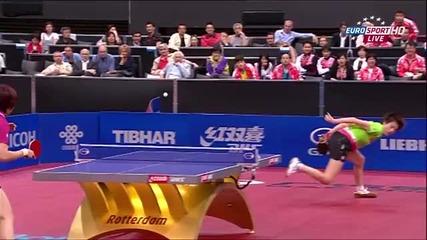 Динг Нинг – Лиа Шаоша,финал на Световното по тенис на маса 2011г.,жени