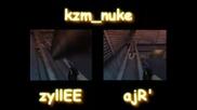 zyllee vs. ajr on kzm nuke [battlemovie]