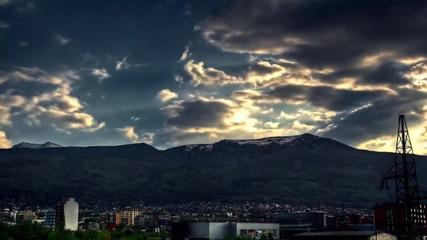 Hdr Time-lapse на Витоша 2