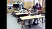 Танц по време на час