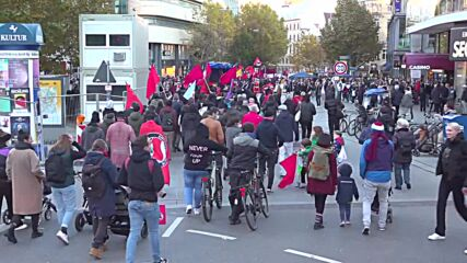 Germany: Antifa protesters rally in Stuttgart in solidarity with banned protest in Leipzig