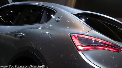 Maserati представи звяра си на изложението във Франкфурт 2011г. ! Hd