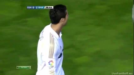 Роналдо издивя със супер гол с/у Осасуна