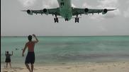 Уникален плаж точно до летището