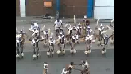 Танц на Зулуси (южна африка)