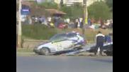 Много лоша катастрофа на квалификацията на ралито в Русе 2009