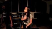 Момиче на 14 изпълнява песента на Flo Rida - Good Feeling