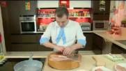 Кухнята на Звездев - Пиле с хамон и моцарела и тирамису