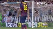 Валенсия - Барселона 1:3, Елдер Пощига (45)