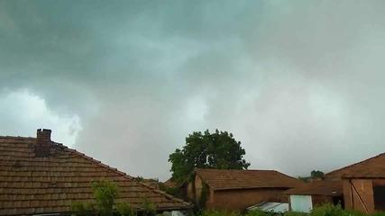 Началото на бурята в Мирково