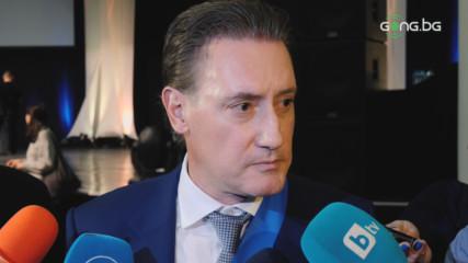 Кирил Домусчиев с коментар за бурните събития в Левски