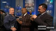Decade of Smackdown - Backstage 1 - With Teddy Long, Finlay, Cm Punk, Santino Marella и други | Hq