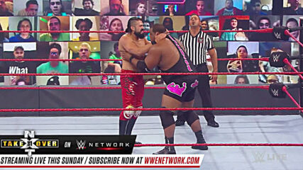 Keith Lee vs. Andrade: Raw, Sept. 28, 2020
