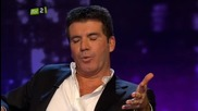 Piers Morgan with Simon Cowell - Uncut 7/7