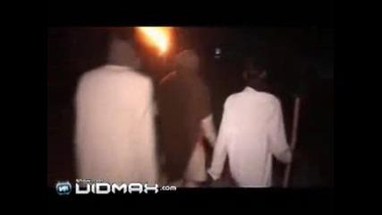 Леопард атакува селяни в Индия