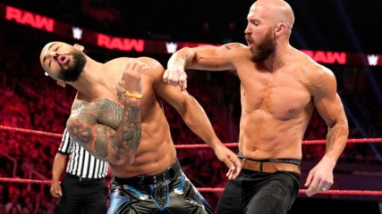 Ricochet vs. Mike Kanellis: Raw, Sept. 16, 2019