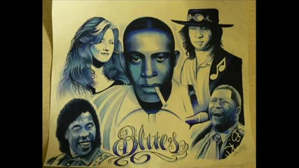 Blues Guitar Backing Track in E slow
