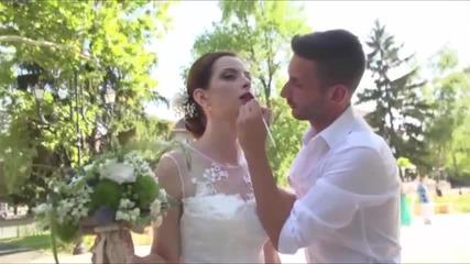 Сватбен грим на Маги от гримьора Martin (grimior.bg)