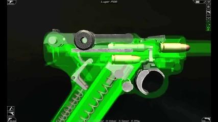 Luger P08 функции