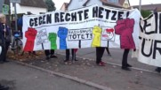 Germany: Protesters rally against AfD conference in Ludwigsburg