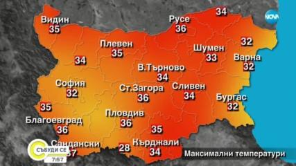 Прогноза за времето (24.08.2019 - сутрешна)