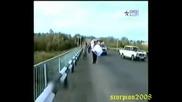Сватба и катастрофа с Камаз в едно )