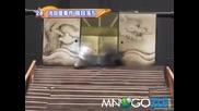 Забавен японски театрален декор