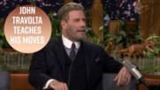 John Travolta redeems himself after dad dancing