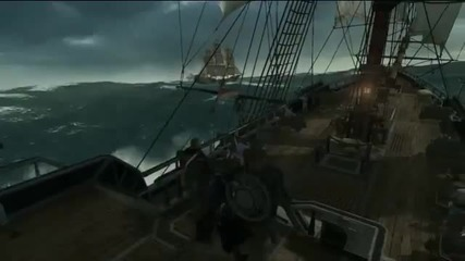 Assassin's Creed 3 Naval Battle Gameplay