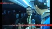 Лудия репортер нахълта в автобуса на Лудогорец след мача с Базел (23.10.2014)