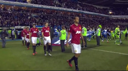 01.12.2012 Рединг - Манчестър Юнайтед 3:4