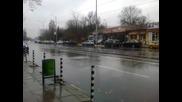 Кадри от преваляванията от дъжд в софия 24.11.2013