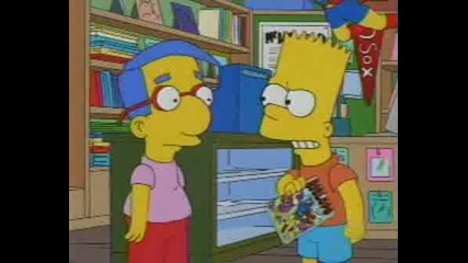 The Simpsons - Bart And Millhouse