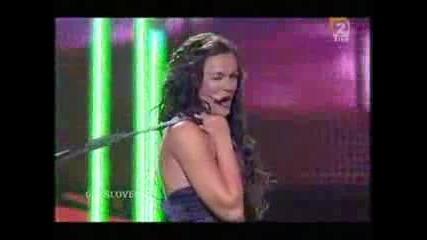Rebeka Dremelj - Vrag Naj Vzame Eurovision Slovenia 2008 1st Semi-final