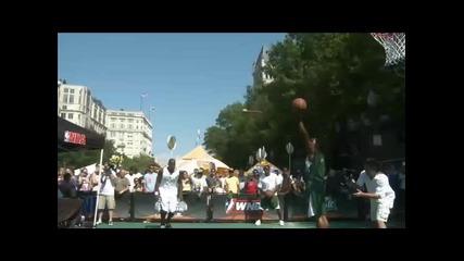 Sprite Slam Dunk Showdown~победителият от Вашингтон