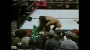 (wwf raw is war 1998) - stone cold & mankind vs the undertaker & the rock
