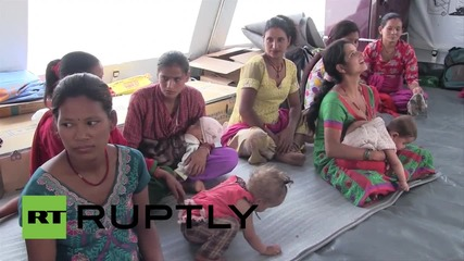 Nepal: Mothers and babies seek refuge in Thula Durlung