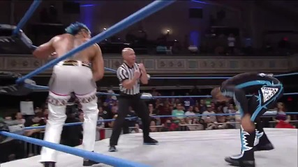 Low Ki Returns to Impact Wrestling to Face Dj Z (july 24, 2014)