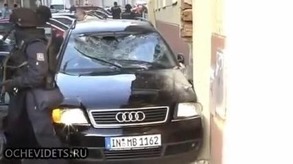 Ето как действат чешки спец полицаи при залавянето на издирван бандит!