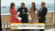 Today Show Cannes 2011_ Angelina Jolie's kids 'love' her 'kung Fu' character