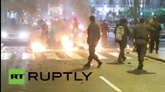 Peru: Police clash with protesters at anti-mining demo in Lima