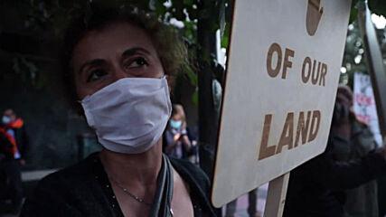 Greece: Protesters demand EU impose sanctions against 'Turkish-Azerbaijani aggression'