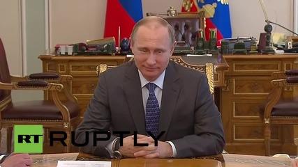 Съветът за сигурност в Русия се концентрира върху парада за Деня на победата